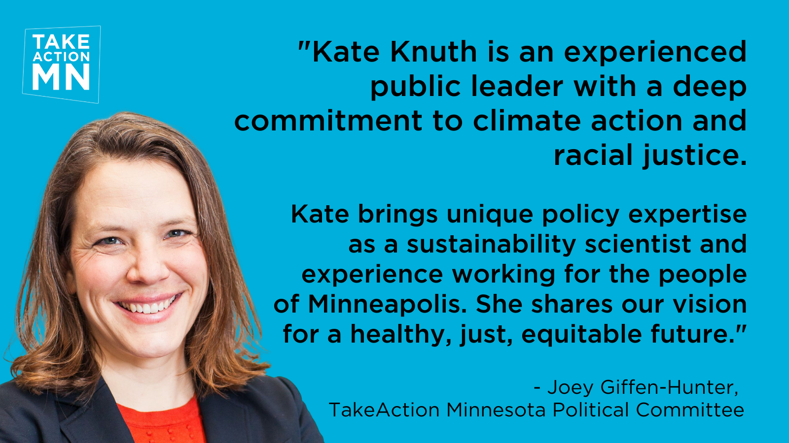 Kate Knuth, candidate for MPLS mayor